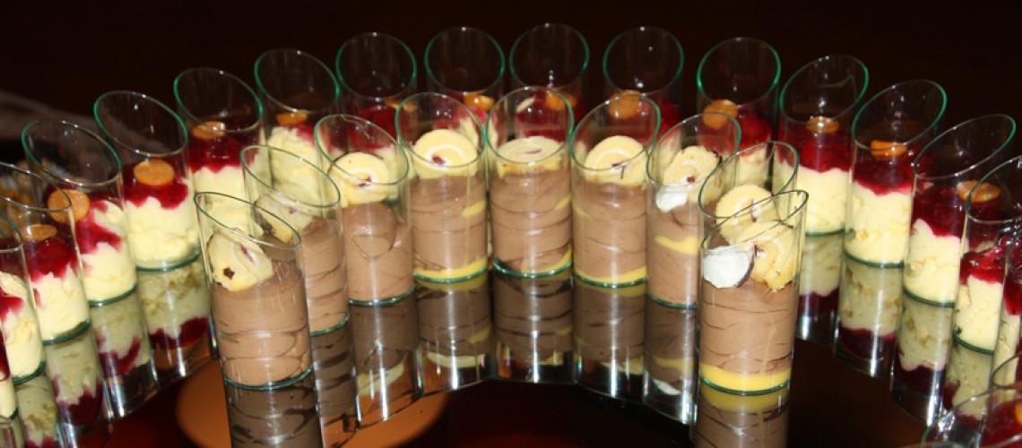 glaasjes-dessert
